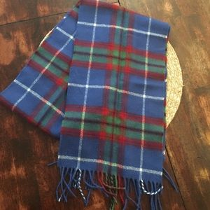 Lochcarron lambswool scarf